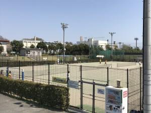 テニスコート紹介|立川市錦町庭球場|多摩川沿い
