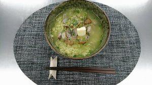 ヤクルト麺で『あさりバター塩ラーメン』5分で作ってみた!