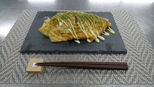 ヤクルト麺で『オムそば』作ってみた!