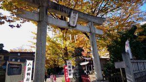 新撰組ゆかりの八坂神社|日野市