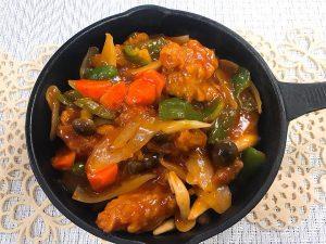 ヤクルト黒酢ドリンクレシピ|簡単時短!黒酢酢豚