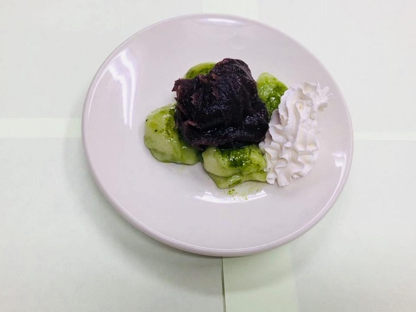 ヤクルト青汁「大麦若葉」で作る簡単レシピ第5弾『青汁餅』