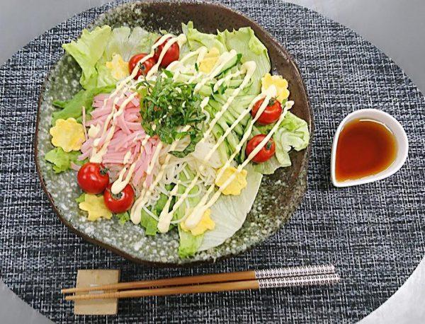 ヤクルト麺で『サラダそうめん』作ってみた!