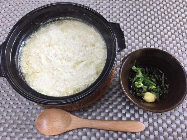 簡単!ヤクルトの調整豆乳で作る「おぼろ豆腐」
