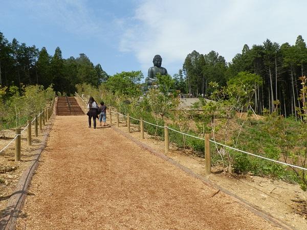 鎌倉大仏様より大きい大仏様が都内に建立。「鹿野(ろくや)大仏」日の出町