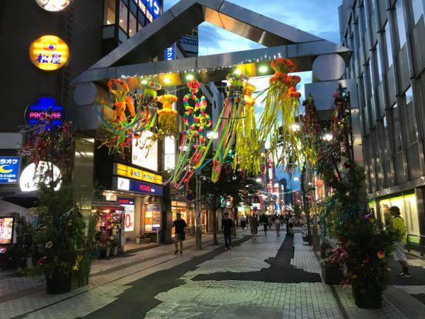 【国際色ゆたかな七夕の短冊】八王子七夕祭りに願いを込めて!