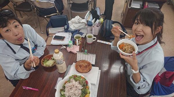 ヤクルト麺で作ってみた!番外編!中央宅配センター昼食会!