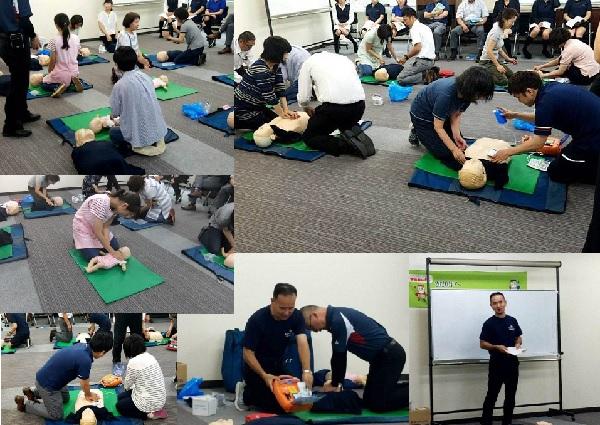 【第2回救急救命講習】西都ヤクルト従事者28名/ライセンス取得しました!