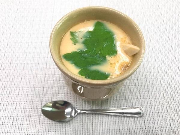 """【男の料理】西都ヤクルトおすすめ『だし醤油』で作る""""茶碗蒸し"""""""