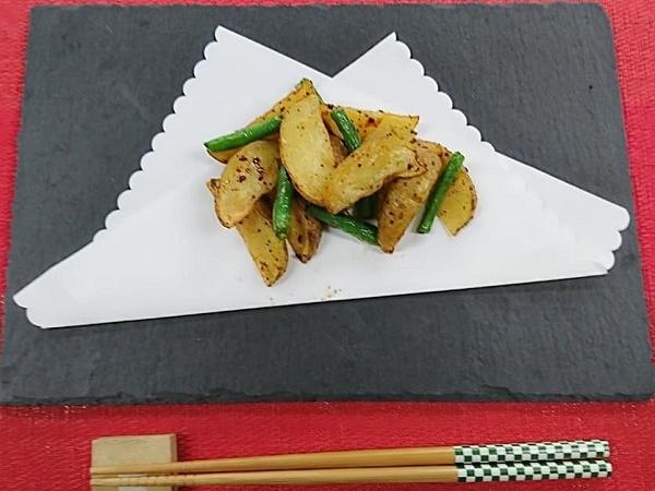 ヤクルト麺で作ってみた番外編!『やきそばフライドポテト』