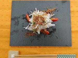 ヤクルト麺で『パリパリそうめん』作ってみた!