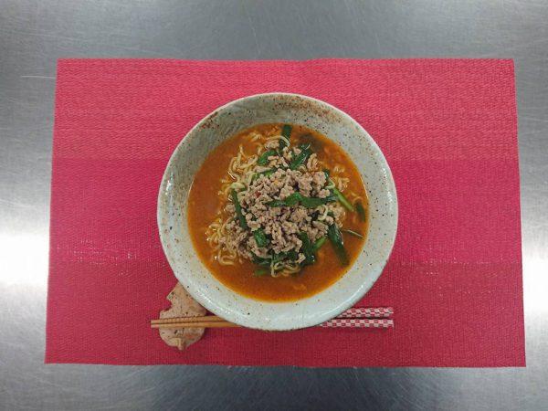 ヤクルト麺で『台湾ラーメン』作ってみた!