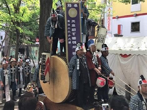 府中のパワースポット『大國魂神社くらやみ祭り』